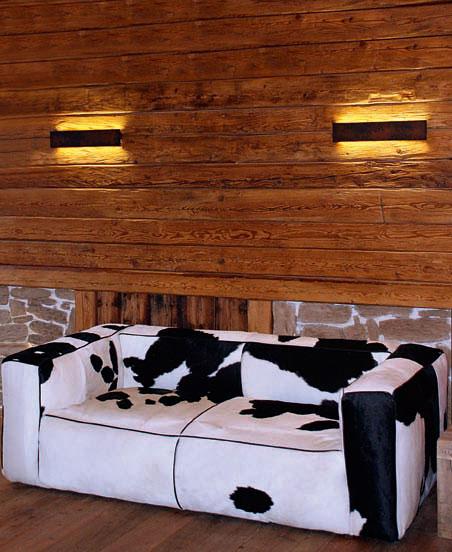retta - lampada a LED a parete